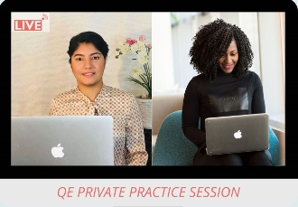 Private QE Practice Session with Priyanka